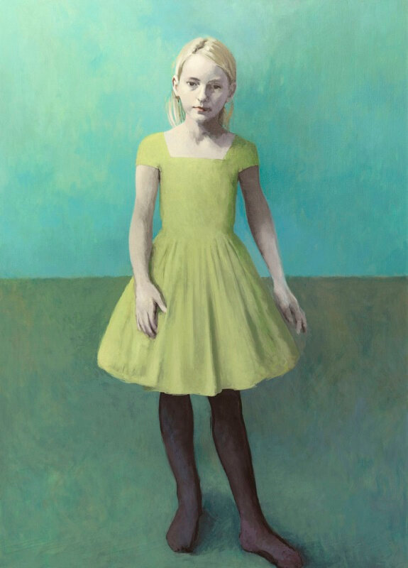 Claerwen-James Girl-With-Pale-Hair-and-a-Pale-Green-Dress-2018