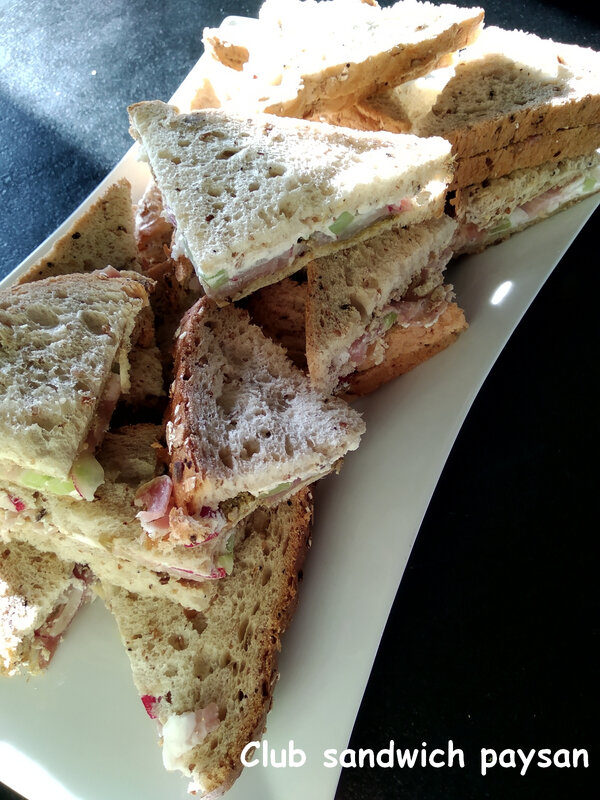club sandwich paysan