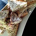 Club sandwich paysan