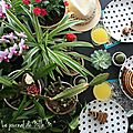 ▼▲ planty table setting / planty appétit ▼▲ tasty jungle / tropical food ▼▲ urban jungle bloggers ▼▲ may 2016
