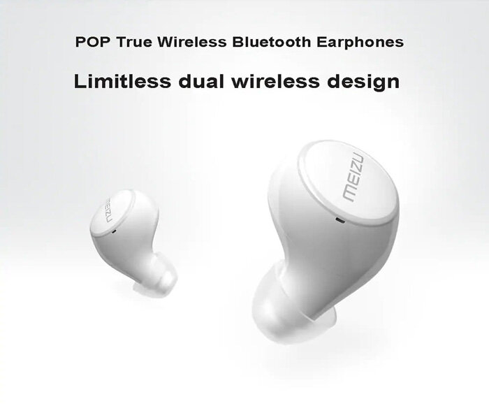 meizu pop tw50 wireless earphones