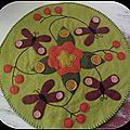 candle mat Butterflies pour Annelise