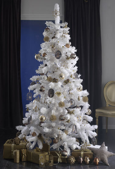 Sapin_decoration_or_et_blanc