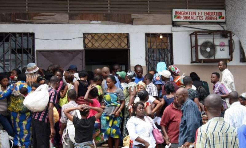 réfugiés de la RDC au Congo