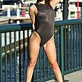 Ally in N-030 gray for Swimsuit-Heaven.net