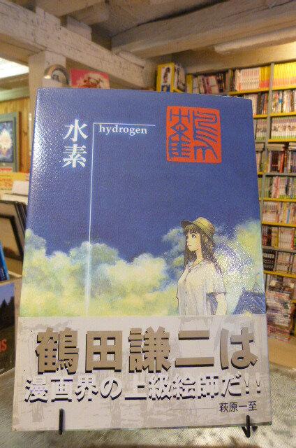 Art book Hydrogen de Tsuruta édition en Japonais, 35 €
