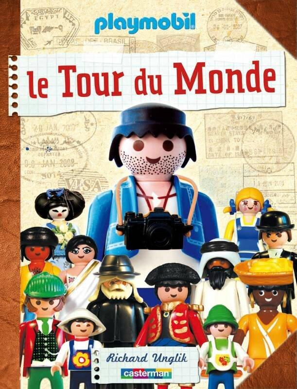 Livre Le Tour du Monde avec Playmobil