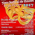 Festival de théâtre idf