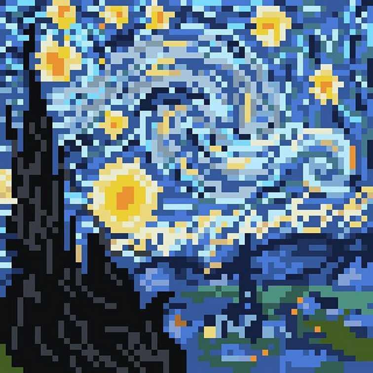 van-gogh-nuit-etoilee-pixel