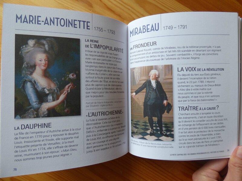 Le petit zapping des 100 grands personnages de l'Histoire de France (2)
