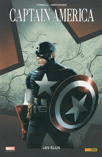 100% marvel captain america les élus