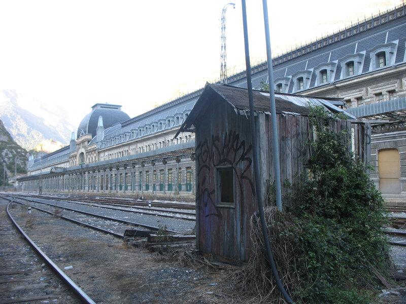 Canfranc, la gare internationale, façade