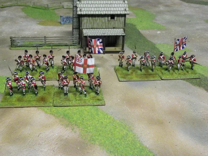 soldats anglais guerre d independance americaine