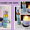 odyssée des sens – bougies parfumées, parfum d'ambiance et huiles