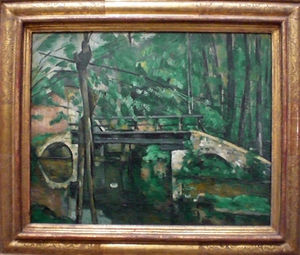 Pont de Maincy-Cezanne