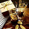 Cadeaux gourmands: cantuccini amandes & noisettes