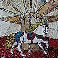 mail art carrousel filetpatch