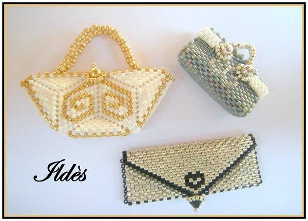 sacs collection 2 (cabas sac à main pochette)