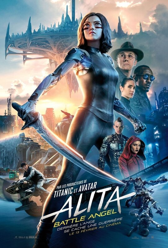 Alita_Battle_Angel affiche