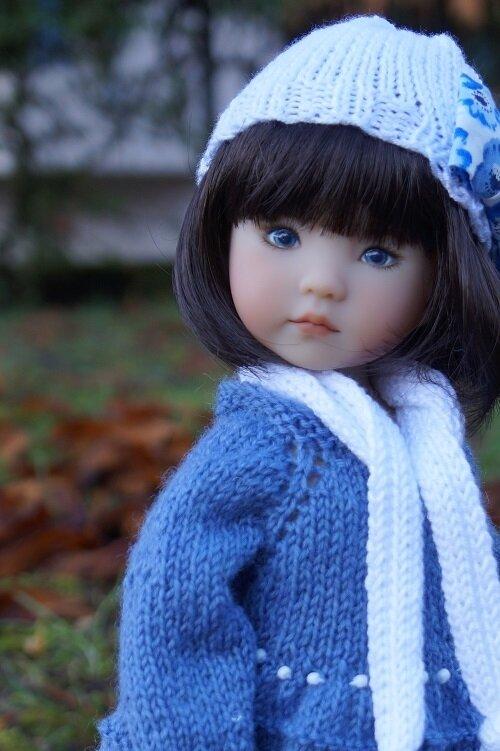 Caroline , Little Darling de Joyce Mathews se prépare pour l'hivers