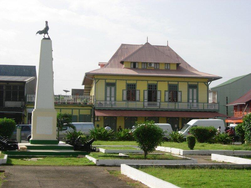 visite de Cayenne