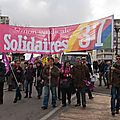 Tours, défilé du 1er mai 2012