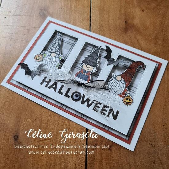 Carte Halloween chez les Gnomes -3