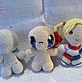 #crochet : #amigurumi, personnage de base by célénaa