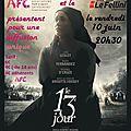 Soirée cinéma : diffusion du film le 13ème jour au cinéma le fellini 10 juin 20h30