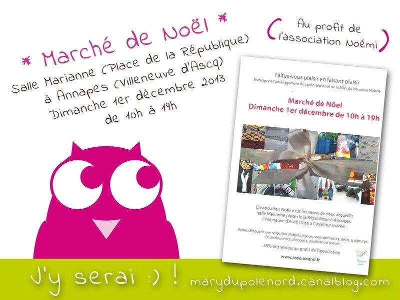affiche-marche-noel-association-noemi-2013-decembre-1er-annapes-villeneuve-d-ascq-lille-sortir-cadeaux-achats-owly-mary-du-pole-nord-marche-createur-noel-creation-artisanat