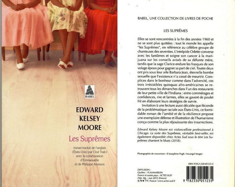 1-Les suprêmes - Edward Kelsey Moore