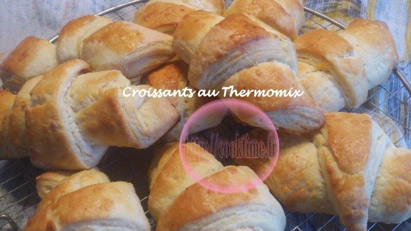 Croissants au Thermomix 9