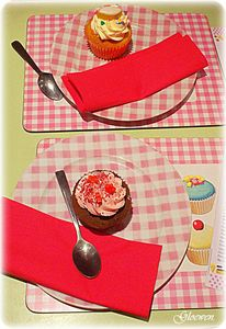 Cup cake le coffre de gloewen et scrat
