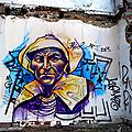 Graffiti serie bretons / la bretonne n°1 / rennes