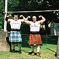 Oldies but goldies: les highland games de 2001