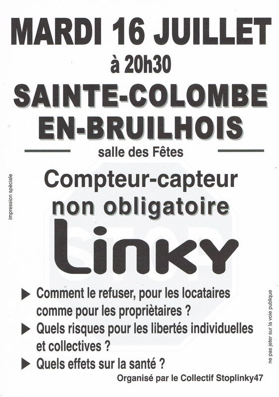Conférence Sainte-Colombe En-Bruilhois