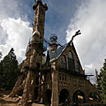 Bishop castle - colorado - etats-unis