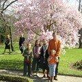 Papa et ses quatre enfants au Parc de La Tête d'Or
