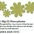 p193 bigz XL fleurs pliante
