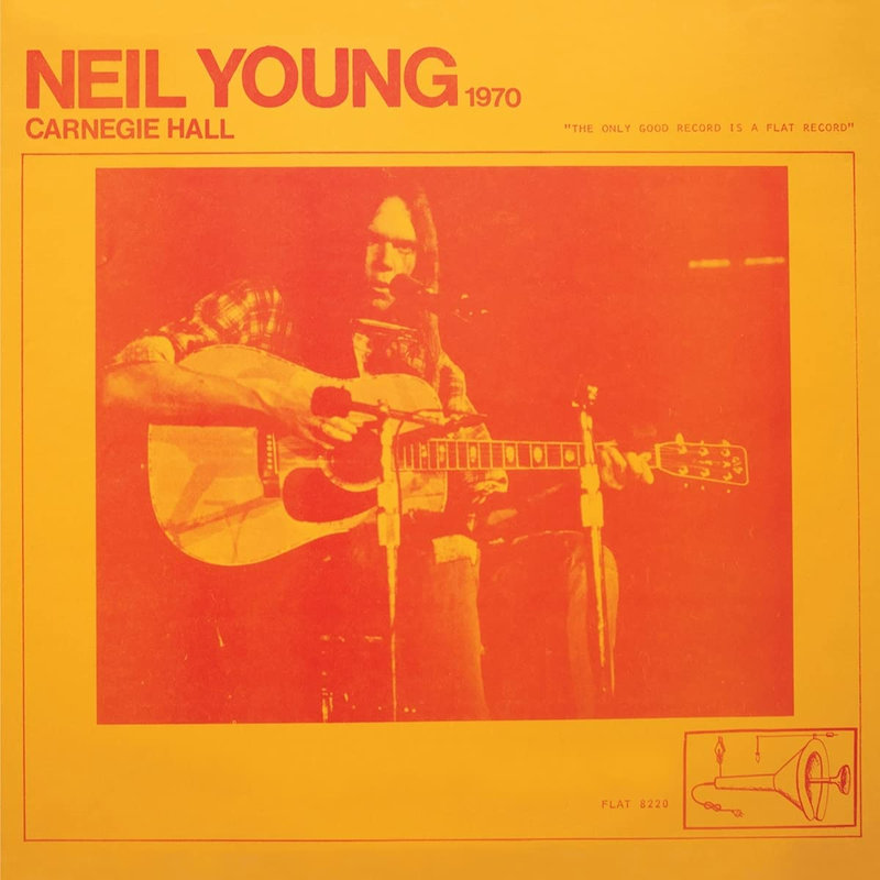 Neil Young Carnegie Hall couverture