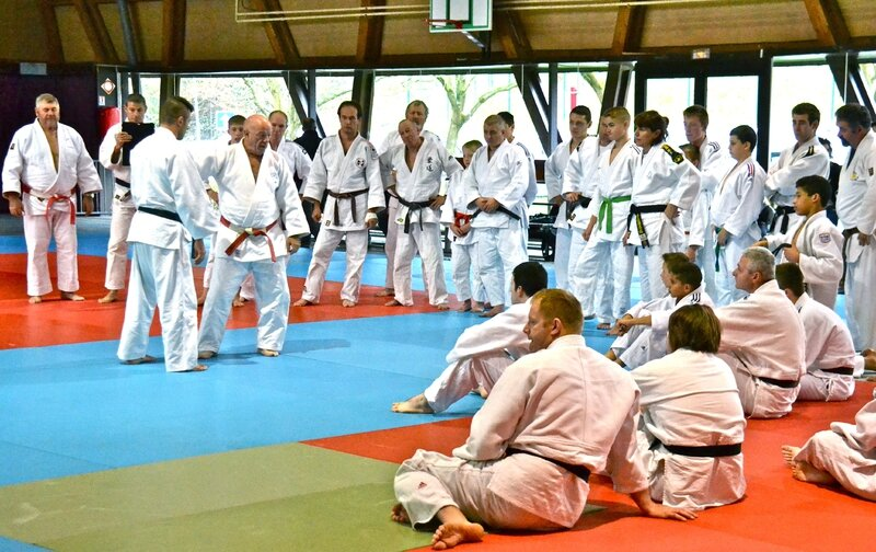 JUDO STAGE SERGE FEIST 2015 groupe