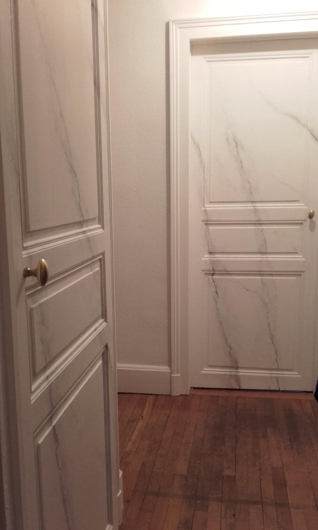 Portes couloir /Entrée