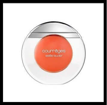 estee lauder & courreges gloss coral