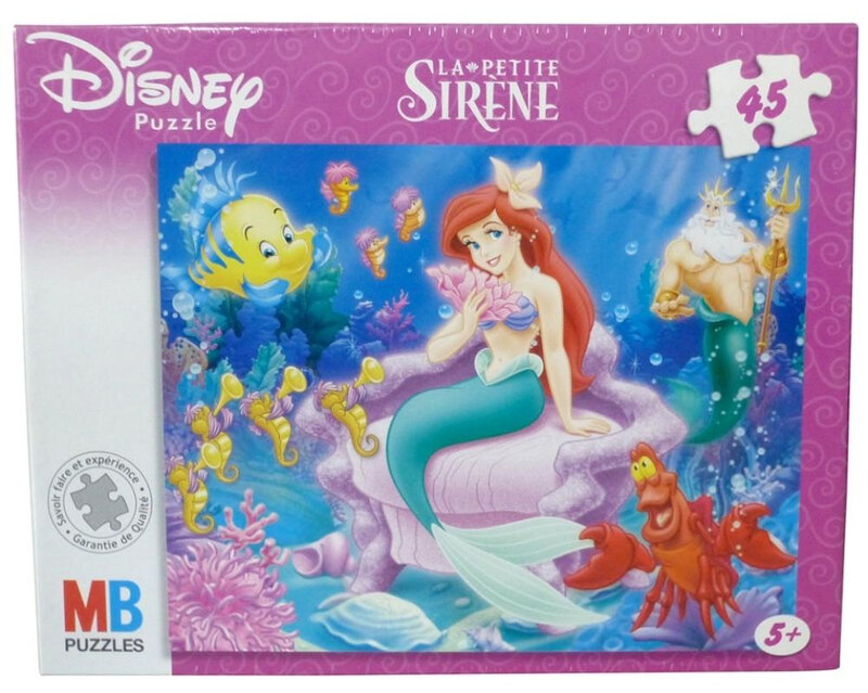 MB puzzle Ariel la petite sirène