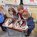 Atelier cuisine pour les anniversaires du mois de novembre en maternelle