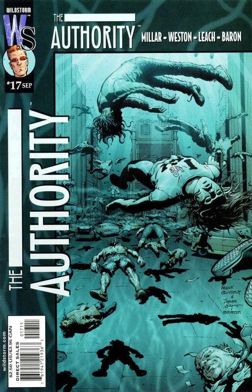 wildstorm authority 17