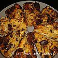 Gâteau de pain pomme chocolat 5 pp pour 16 parts