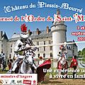 Unique en france depuis des siècles : tournois de joutes à lances réelles au château du plessis bourré