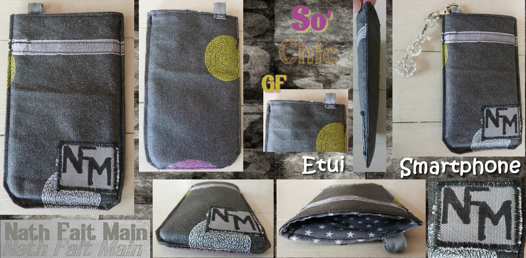 Etui smartphone So'Chic GF (0)