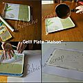 Tutoriel gelli plate faite